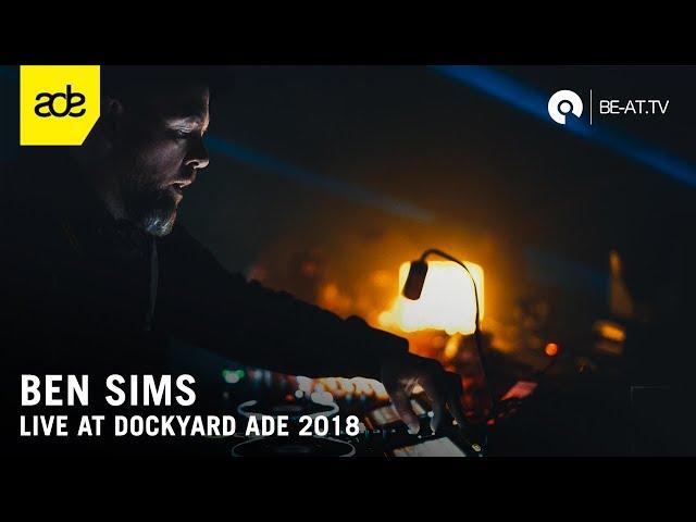 Vídeo de un set de Ben Sims
