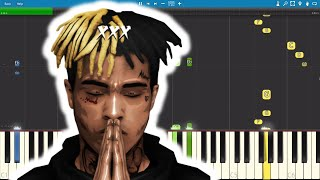 XXXTENTACION - SAD! - Piano Tutorial