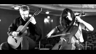 Schindler's list - cello guitar duet Duo Vitare