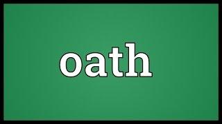 Oath Meaning