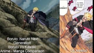 Boruto vs Kawaki (Anime/Manga Comparison) Naruto Next Generations width=
