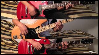 The Black Keys - Sister guitar and bass cover