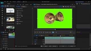 POWER DIRECTOR How To Kill Off GREEN SCREEN IN POWER DIRECTOR 15 VideoFILM STOCK FX TUTORIALS