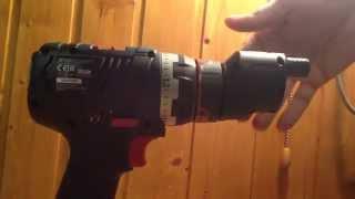 Bosch GSR 18 V-EC FC2 - поворот насадок вокруг оси