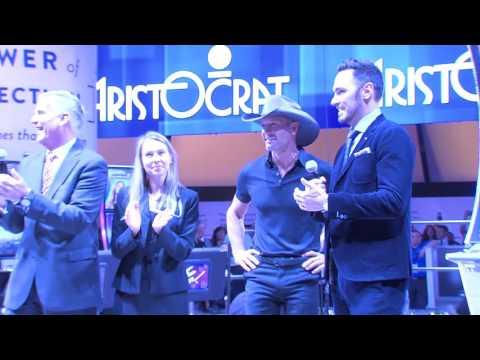 Tim McGraw Surprises G2E Guests