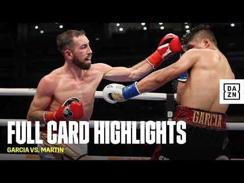FULL CARD HIGHLIGHTS   Mikey Garcia vs. Sandor Martin