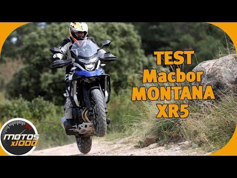 Toma de Contacto Macbor Montana XR5| Motosx1000