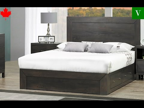 New Yorker Storage Bed - Anne Quinn Solid Wood Furniture