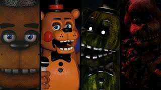All FNaF Characters sing Five Long Nights
