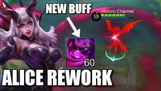 NEW ALICE REWORK IS HERE WITH NEW ANIMATION
