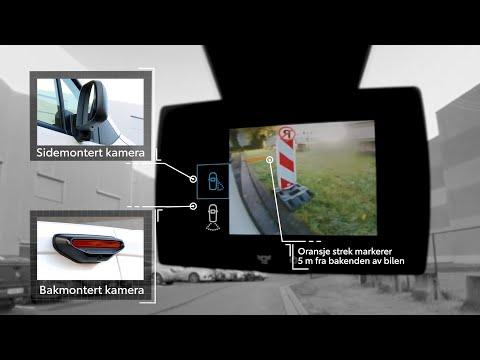 Toyota Proace City - smart ryggekamera