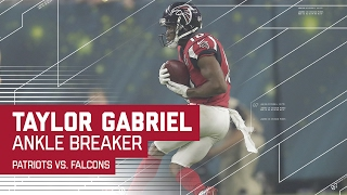 Taylor Gabriel Ankle Breaking Big Catch! | Patriots vs. Falcons | Super Bowl LI Highlights