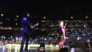 Madonna performs crazy for you in Singapore