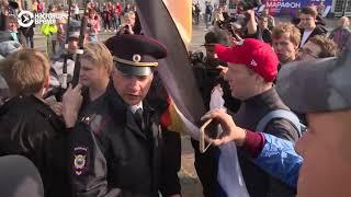Санкт-Петербурге полиция задержала