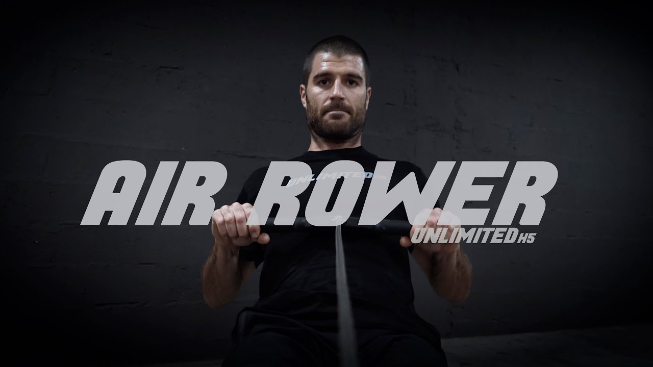 Vídeo YouTube Unlimited H5 Air Rower