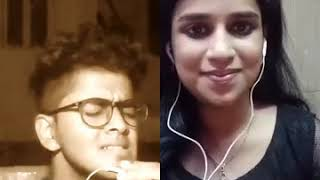 most viral collab in smule - maruvarthai