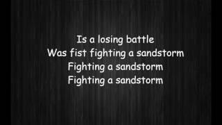 Sia   Fist Fighting A Sandstorm lyrics