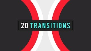 (FREE) 2D Transition Pack | After Effects (Tutorial Included)