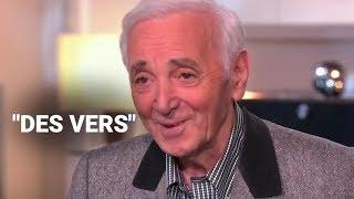 Charles Aznavour avait une idée précise pour son épitaphe