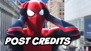 Spider-Man Far From Home Alternate Post Credit Scene - Deleted Scenes Breakdown