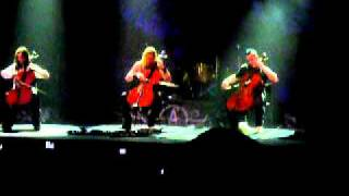 Apocalyptica y Un clásico Nothing Else Matters Metallica Cover
