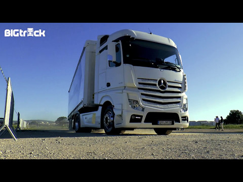 Testing the Actros in Portugal