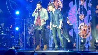 Michel Teló e Luan Santana - Gravação DVD Bem Sertanejo na Live Curitiba