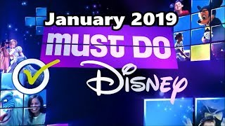 Must Do Disney with Stacey - January 2019 | Walt Disney World Resort TV