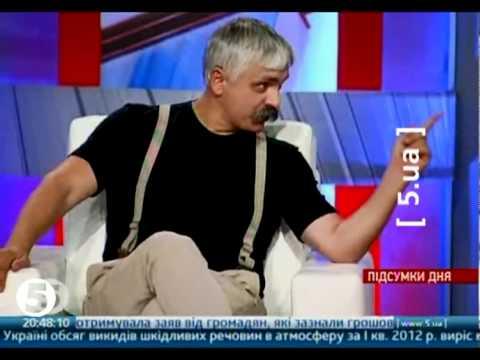 Корчинський грозиться побити адвоката в прямому ефірі