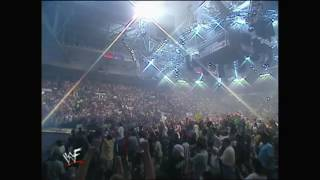 Stone Cold Steve Austin Last Entrance w/ Glass Shatters on WWF RAW (HD)