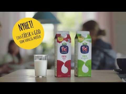 Först i Sverige – Färsk laktosfri mjölk