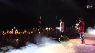 """Biel cantando """"Melhor Assim"""" na Metropolitan, Rio de Janeiro - RJ."""