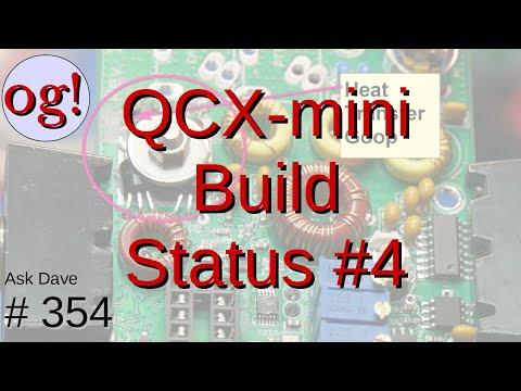 QCX-mini Update: Transistors, Winding Toroids and More (#354)