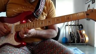 Black Cat Bones Death Valley Blues guitar cover