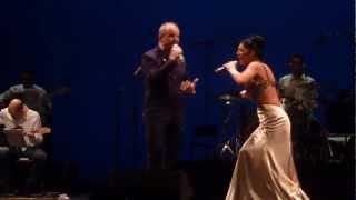 Ahora - Alberto Plaza y Joana Jimenez en Concierto de A 3 Bandas en Sevilla