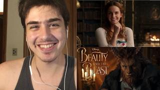 A Bela e a Fera - Trailer 2# | REAÇÃO!!
