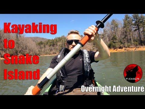 Snake Island - Kayaking Hammock Overnight Adventure