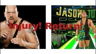 Big show injury! Jason joardon return!
