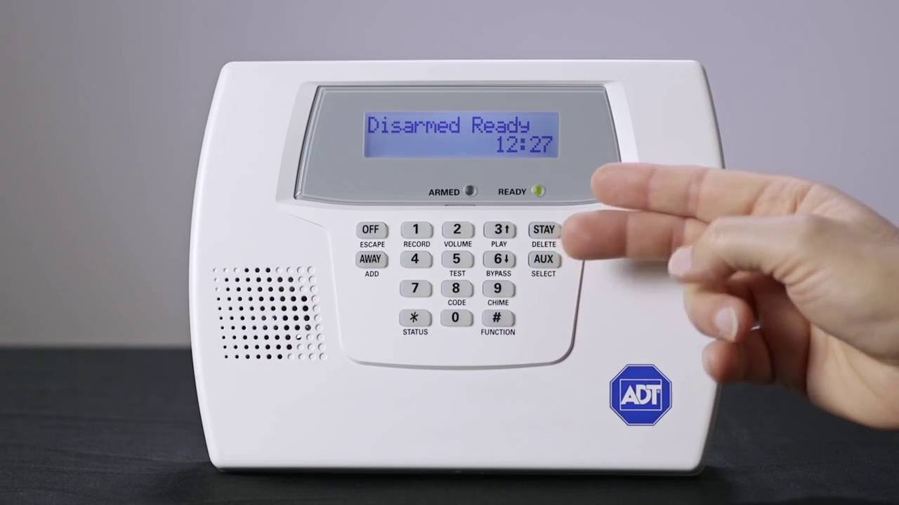 Replacing Your Alarm System Battery is Easy with ADT