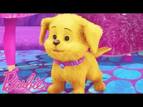 Trefft Honey der entzückende Welpe aus Barbie Dreamtopia | Barbie Deutsch | Barbie Videos für Kinder