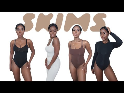 SKIMS Try On Haul & Review With Octavia B