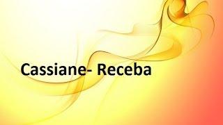 Cassiane- Receba (Playback com Legenda)