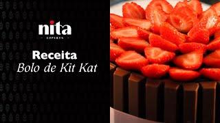 Bolo de Kit Kat - Nita Alimentos
