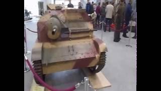 Tankietka rozpoznawcza TKS z działkiem NKM 20 mm