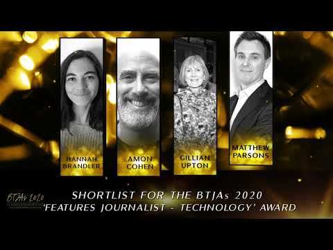 BTJAs 2020 Features Journalist of the Year - Technology