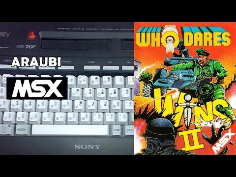 Who Dares Wins II (Alligata, 1986) MSX [139] El Kiosko