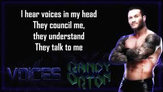 Randy Orton WWE Theme - Voices (lyrics)