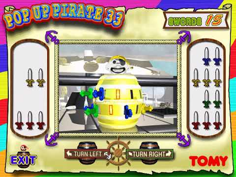 Pop-Up Pirate (a.k.a. 黒ひげ危機一発) (Tomy Multimedia) (Windows) [1996] [PC Longplay]