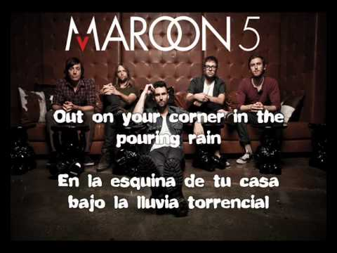 Maroon 5 She Will Be Loved Subtitulos Español Ingles Chords