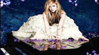 Wish You Were Here (Official Instrumental)-Avril Lavigne